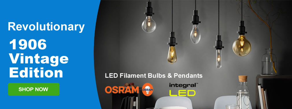 LED Vintage Edition - Bulbs & Pendants / New Arrivals
