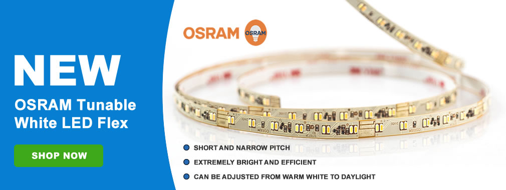 NEW Osram Tunable LED Flex