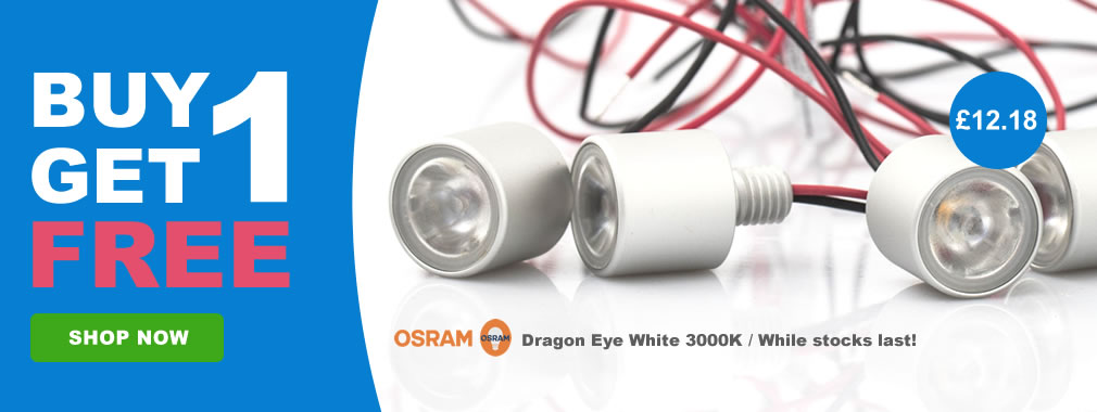 Buy 1 Get 1 Free Osram Dragon Eye