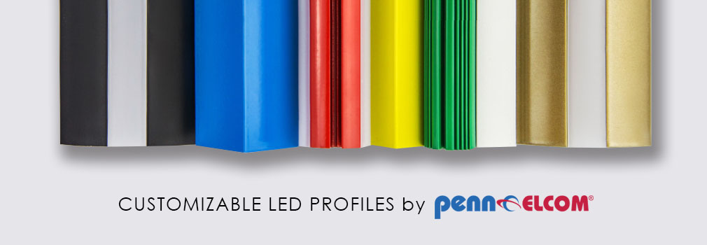 LED Alimunium Profiles by Penn Elcom