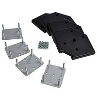 Penn Elcom 4 Piece Wheel Plate Kit (Plates, Corners, Nylocks) W9970-KIT