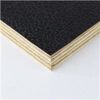 "Penn Elcom 4x4' Black Laminated Plywood Panel - Thickness: 12mm (1/2"") M876012-2"