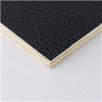 "Penn Elcom 4x4' Black Laminated Plywood Panel - Thickness: 6.5mm (1/4"") M876006-2"