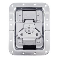 Penn Elcom Large MOL3 Shallow Recessed Butterfly Latch Offset for 27mm Extrusion MOL3