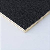 "Penn Elcom 4x4' Black Laminated Plywood Panel - Thickness: 4.5mm (.2"") M876005-2"