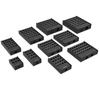 Penn Elcom 28 Hole Stage Box Punched for D-Series Connectors R2345-28