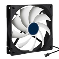 Penn Elcom Quiet Case Fan (120mm, 12v, DC) CRCFAN120