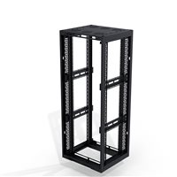 Penn Elcom 37U Open Tower Rack System M6 Rail (Depth: 940mm / 37in) R4106-OT-37UK