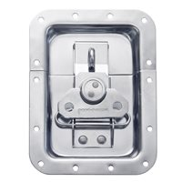 "Penn Elcom Large Butterfly Latch with Padlock Hasp (10mm / 3/8"" Split to Hole Centre) L935/530PD"