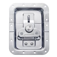 "Penn Elcom Large Offset Butterfly Latch with Padlock Hasp (10mm / 3/8"" Split to Hole Centre) L935/537PD"