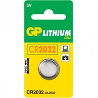 GP GP CR2032-C1 Lithium Cell 3V Strip Of 5 CR2032-C1