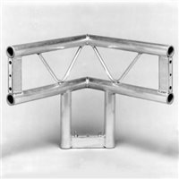 Metalworx Ladder Truss 2 Way Junction Vertical with Leg