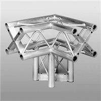 Metalworx Square Truss 2 Way Junction with Leg (3 Way Corner) ST-System