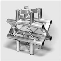 Metalworx Square Truss 4-way X junction ST-System ST254