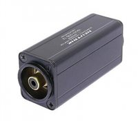 Neutrik Neutrik Mini Transformator Symmetrisches Adapter, 3-polige XLR zu Cinch/ Phono, Schw. cod. - NA2M-D0B-TX