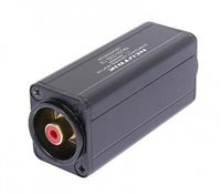 Neutrik Neutrik Mini Transformator Symmetrisches Adapter, 3-polige XLR zu Cinch/ Phono, Rot cod. - NA2M-D2B-TX