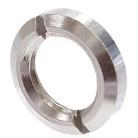 Neutrik Nickel plated metal ring nut NRJ-NUT-MS