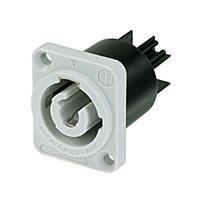 Neutrik Neutrik PowerCON Power-Out 3-polig 20A Einbaustecker, - NAC3MPB-1