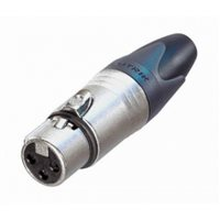Neutrik XLR 3 Pin Female Cable NC3FXX