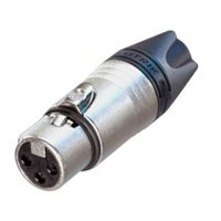 XLR 3 Pin Female Large Entry Cable NC3FXX-14-D by Neutrik