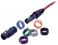 Neutrik Coloured Ring Brown with Ident for FX/MX Connectors XCR-1