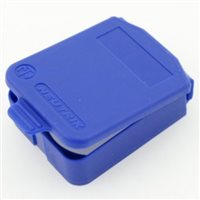 D Sized Hinged Cover Blue SCDX-6-Blue by Neutrik