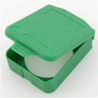 D Sized Hinged Cover Green SCDX-5-Green by Neutrik
