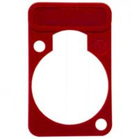 Lettering Plate Red for D-Chassis Connector DSS-Red 〜によって Neutrik