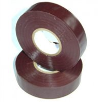 Nu-Pax Electrical Insulation Tape PVC Brown 19mm x 33M BS3924 PVC-33M-E/tape-Bn