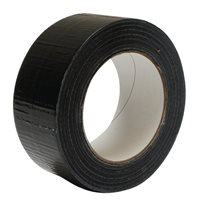 Nu-Pax Gaffa Tape Black 48mm x 50M Economy 3159-ECO-BK-GAFFA