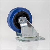 "Penn Elcom 100mm / 4"" Blue Swivel Castor W0990-V6"