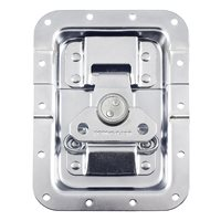"Penn Elcom Large MOL™ Recessed Butterfly Latch in Deep 27mm / 1"" Offset Dish. Split to Hole: 19mm / 3/4"" L944/527MOL"