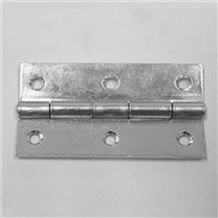 Hinge Zinc 70mm x 38.5mm Open P0620 by Penn Elcom