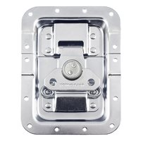 "Penn Elcom Large MOL™ Recessed Butterfly Latch in Deep 27mm / 1"" Offset Dish. Split to Hole: 10mm / 3/8"" L944/537MOL"