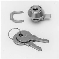 Penn Elcom Barrel Lock and key for Rack Drawers R1292-KEY