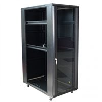 Penn Elcom Lockable Front Door For EMP Server Rack - Perforated Steel 22U