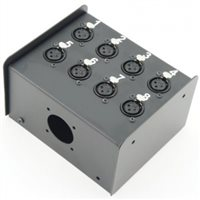 Penn Elcom Neutrik Loaded 8 Way Stage Box