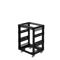 "Penn Elcom 12U Open Tower Rack System 400mm / 16"" Deep R8200-16/12UK"