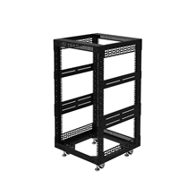 "Penn Elcom 18U Open Tower Rack System 510mm / 20"" Deep R8200-20/18UK"