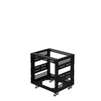 "Penn Elcom 8U Open Tower Rack System 400mm / 16"" Deep R8200-16/8UK"