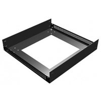 "Penn Elcom Base Unit for 510mm / 20"" Deep Rack Frame with M10 fixings for feet/castors R8210/20"