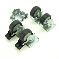 Penn Elcom Castor Kit for R2020 Skeleton Rack R2020-CASTOR-KIT