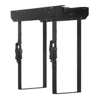 Penn Elcom CPU Holder Black on Sliding Runners CPU-57BN