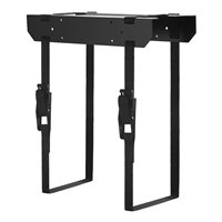 Penn Elcom CPU Holder Black with Adjustable CPU Support CPU-42BN