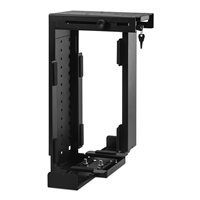 Penn Elcom Rigid Locking Computer Holder Black CPU-87B/L