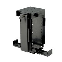 Penn Elcom Slimline Rigid Locking Computer Holder Black CPU-87B/L-SLIM