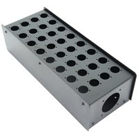 Penn Elcom 32 Hole Stage Box Punched for D-Series Connectors