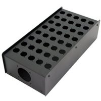 Penn Elcom 40 Hole Stage Box Punched for D-Series Connectors R2350-40