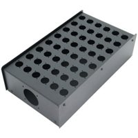 48 Hole Stage Box Punched for D-Series Connectors R2350-48 por Penn Elcom