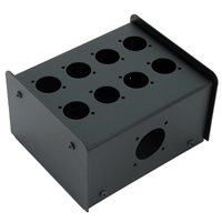 Penn Elcom 8 Hole Stage Box Punched for D-Series Connectors R2350-08